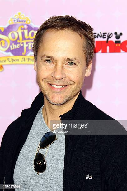 Chad Lowe attends the premiere of Disney Channels' 'Sofia The First Once Upon a Princess' at Walt Disney Studios on November 10 2012 in Burbank...