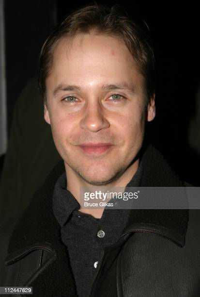 Chad Lowe during Opening Night of Bridge and Tunnel OffBroadway at 45 Bleeker Theater in New York New York United States