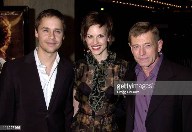 Chad Lowe Hilary Swank Dad during The Affair Of The Necklace Premiere at Loews Century Plaza Theatre in Century City California United States