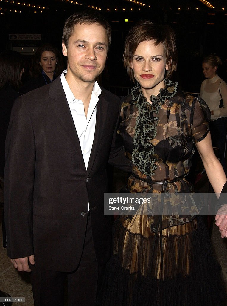 Chad Lowe & Hilary Swank during The Affair Of The Necklace Premiere at Loews Century Plaza Theatre in Century City, California, United States.