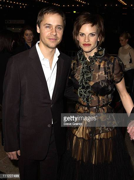 Chad Lowe Hilary Swank during The Affair Of The Necklace Premiere at Loews Century Plaza Theatre in Century City California United States