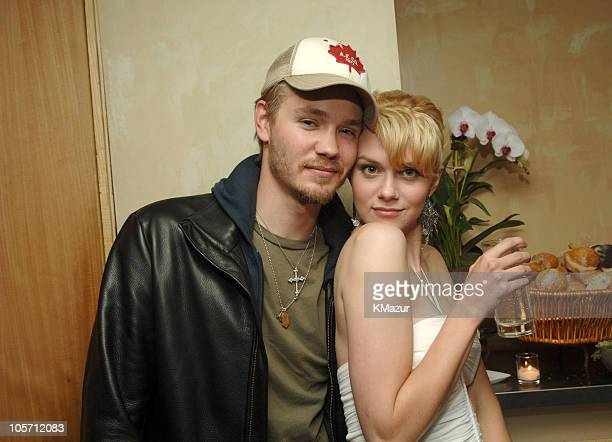 Chad Michael Murray and Hilarie Burton during 2005/2006 WB UpFront After Party at W Hotel in New York City New York United States