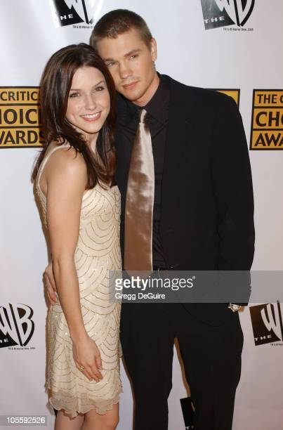 Chad Michael Murray and Sophia Bush during 10th Annual Critics' Choice Awards Arrivals at Wiltern LG Theatre in Los Angeles California United States