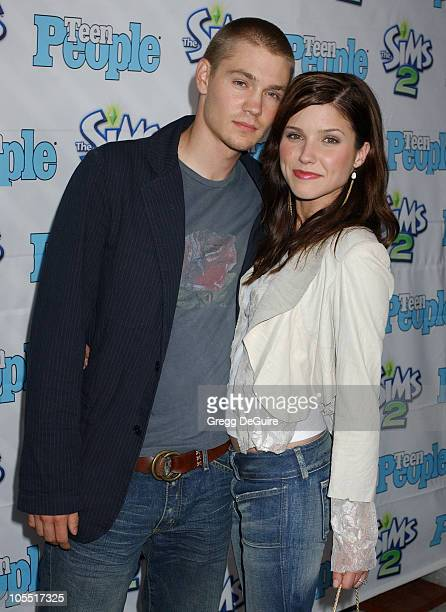 Chad Michael Murray and Sophia Bush during 1st Annual Teen People 'Young Hollywood' Issue at Teen People Mansion in West Hollywood California United...