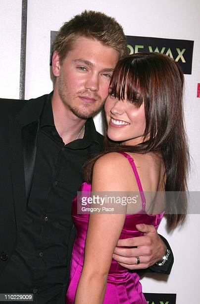Chad Michael Murray and Sophia Bush during 4th Annual Tribeca Film Festival House of Wax New York City Premiere Arrivals at Stuyvesant High School in...