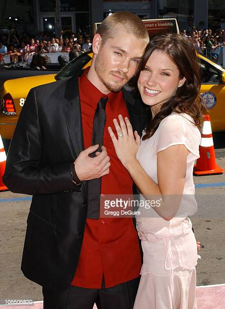 Chad Michael Murray and Sophia Bush during A Cinderella Story World Premiere Arrivals at Grauman's Chinese Theatre in Hollywood California United...