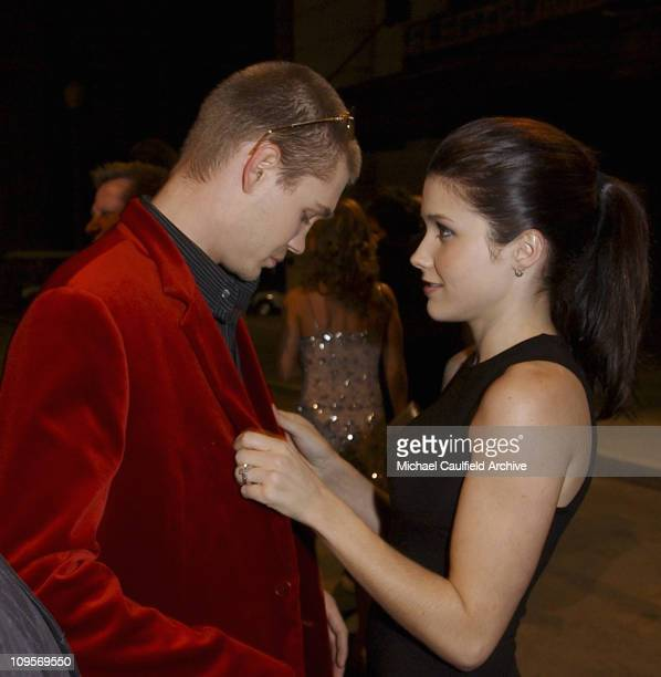 Chad Michael Murray and Sophia Bush during The WB Television Network's 2005 All Star Party Inside at Warner Brother's Main Lot in Los Angeles...
