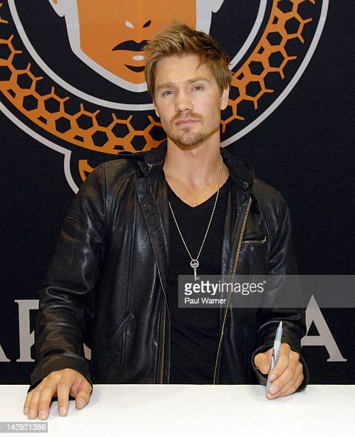 Chad Michael Murray attends the 2012 Chicago Comic and Entertainment Expo at McCormick Place on April 14 2012 in Chicago Illinois