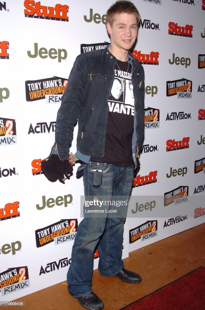 Chad Michael Murray during Jeep Activision and Stuff Magazine Launch Tony Hawk's Underground 2 Remix at Marquee in New York, New York, United States.