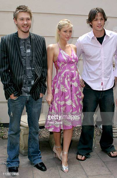 Chad Michael Murray Paris Hilton and Jared Padalecki