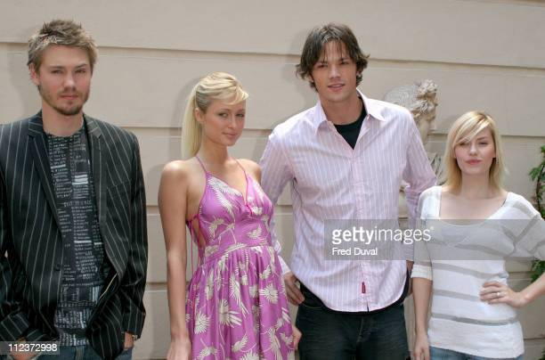 Chad Michael Murray Paris Hilton Jared Padalecki and Elisha Cuthbert