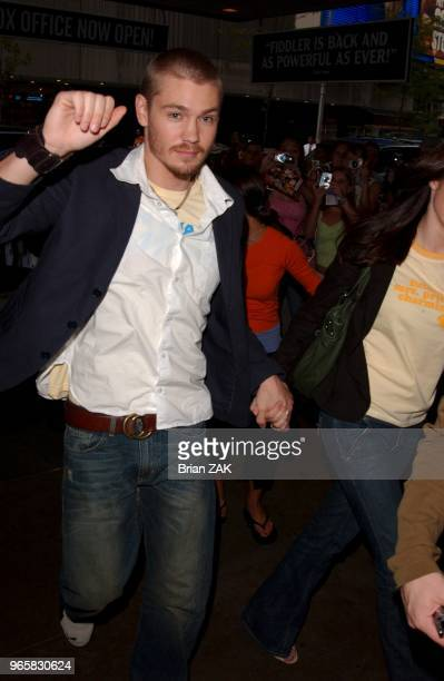 Chad Michael Murray promoting his new romantic teen comedy A Cinderella Story at Planet Hollywood in Time Square