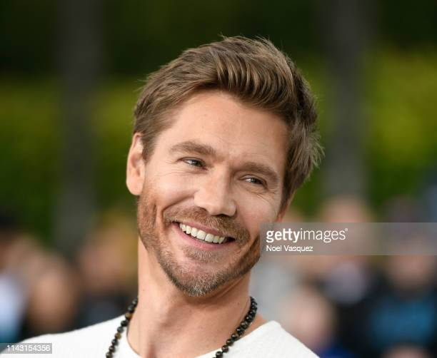 Chad Michael Murray visits Extra at Universal Studios Hollywood on April 16 2019 in Universal City California