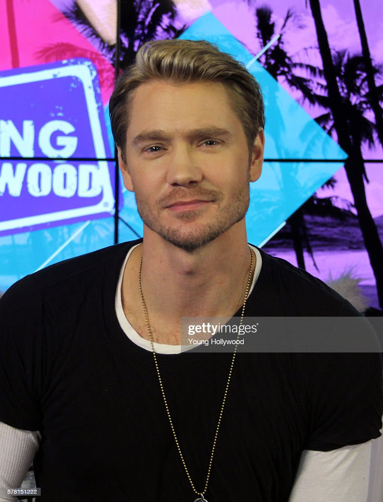 Chad Michael Murray Visits Young Hollywood Studio