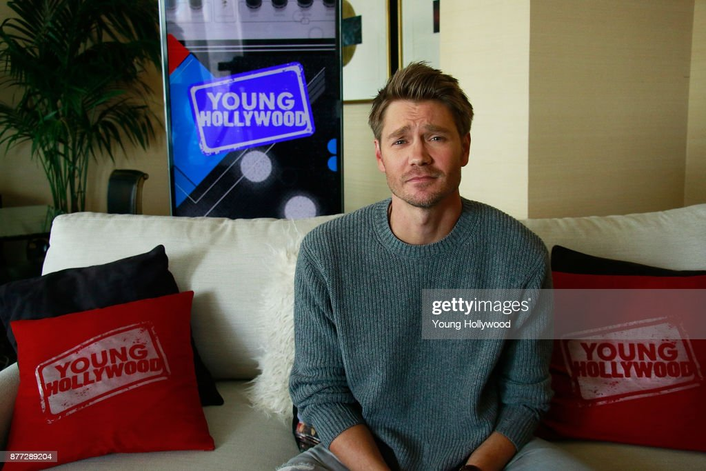 Chad Michael Murray visits the Young Hollywood Studio on November 15, 2017 in Los Angeles, California.