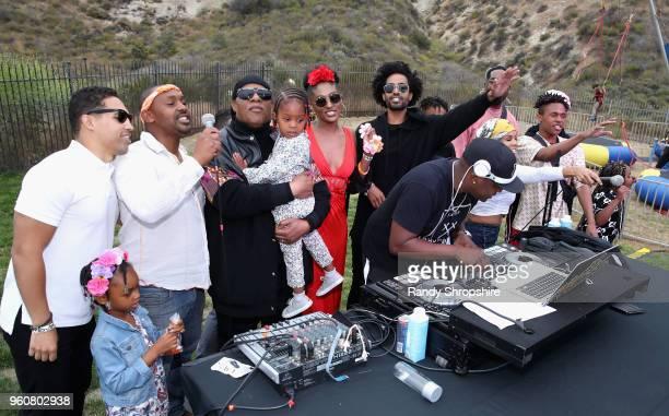 Chad Millard Mumtaz Morris Musician Stevie Wonder Nia Morris Sophia Morris DJ MalSki Kwame Morris Mandla Morris Kai Millard Keita Morris and Kailand...