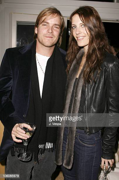 Chad Muska and Vanessa Traina during Jenni Kayne Dinner to Celebrate Her Fall 2006 Collection in Beverly Hills, California, United States.