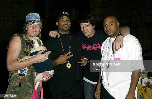 Chad Muska, Damon Dash, Dominick DeLuca and friend