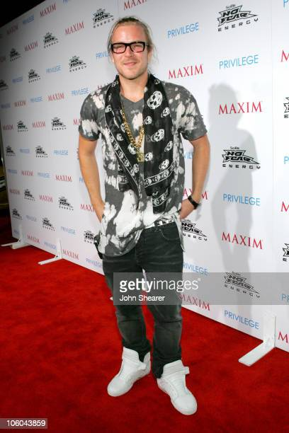 Chad Muska during Celebrate Extreme Sports With Maxim Magazine at Privilage in Hollywood, California, United States.