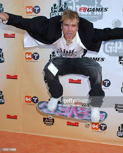"""Chad Muska during """"G-Phoria - The Award Show 4 Gamers"""" at Shrine Auditorium in Los Angeles, California, United States."""