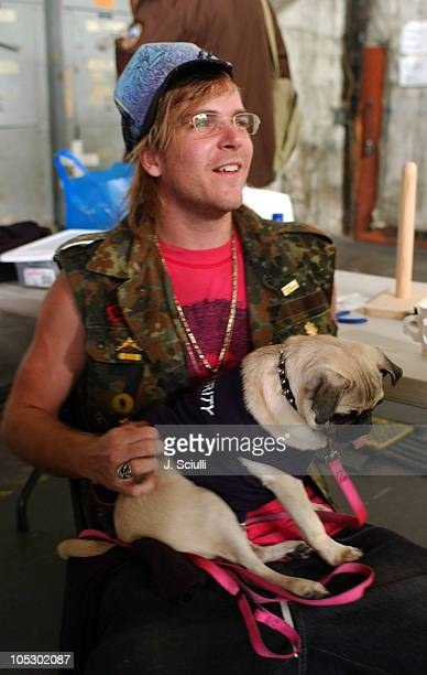 Chad Muska during Samantha Ronson's First Music Video in Los Angeles, California, United States.