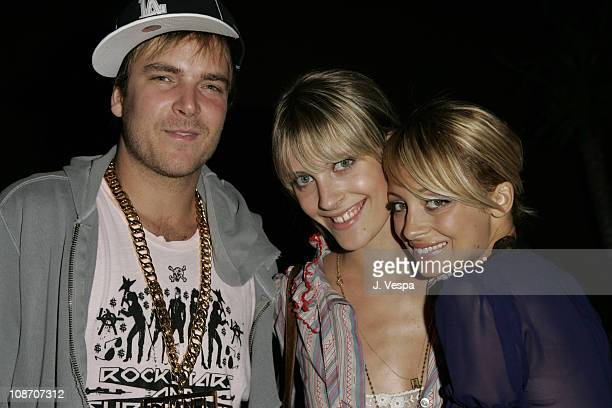 Chad Muska, Vanessa Traina and Nicole Richie during Teen Vogue Young Hollywood Issue Party - Inside at The Roosevelt Hotel in Hollywood, California,...