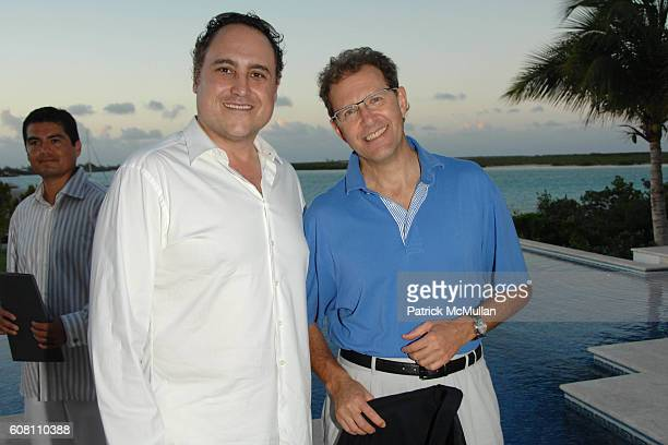 Chad Oppenheim and Edouard Ettedgui attend Cocktail Party hosted by The Premier of Turks and Caicos, MICHAEL E. MISICK for The O Property Collection...