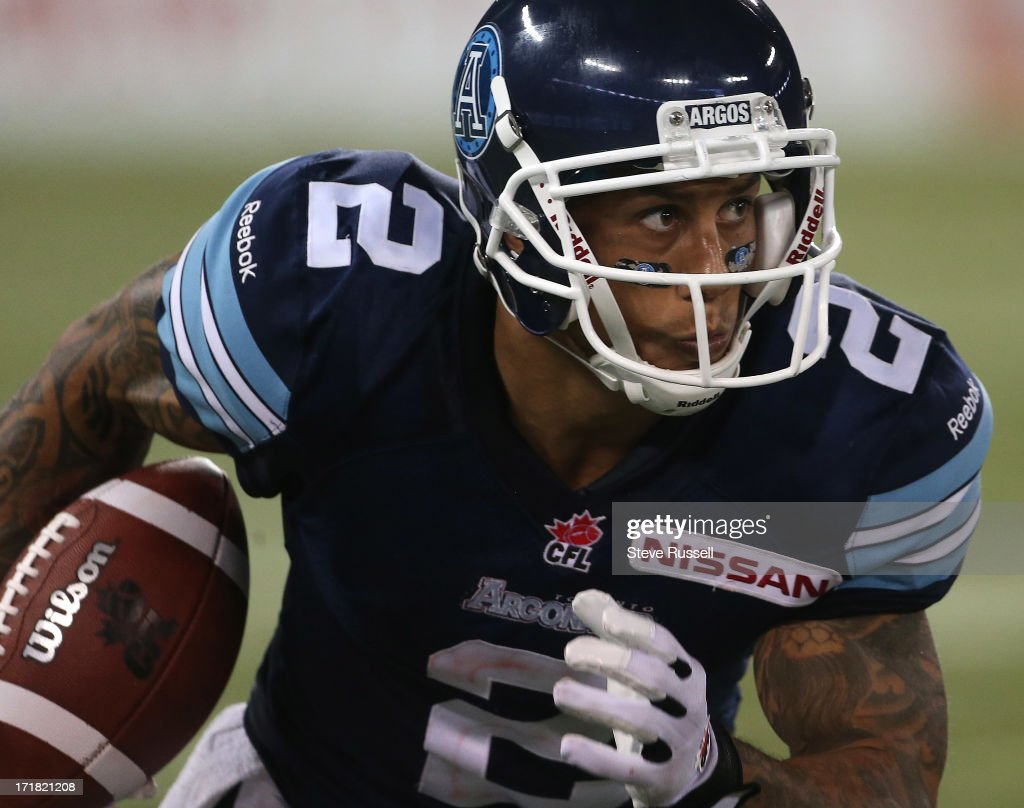 CAN: Toronto Argonauts V Hamilton Tiger-Cats