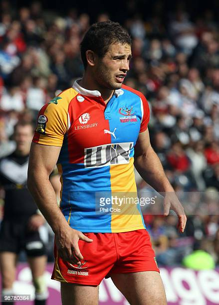 Chad Randall of Harlequins during the Engage Rugby Super League Magic Weekend match between Hull FC and Harlequins at Murrayfield on May 1 2010 in...