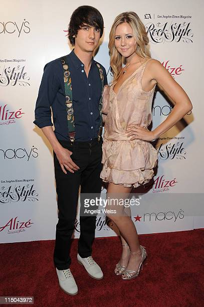 Chad Rogers and Amanda Sobocinski arrive at LA Los Angeles Times Magazine's 'Rock/Style' Celebration of Music and Fashion at the Roosevelt Hotel on...