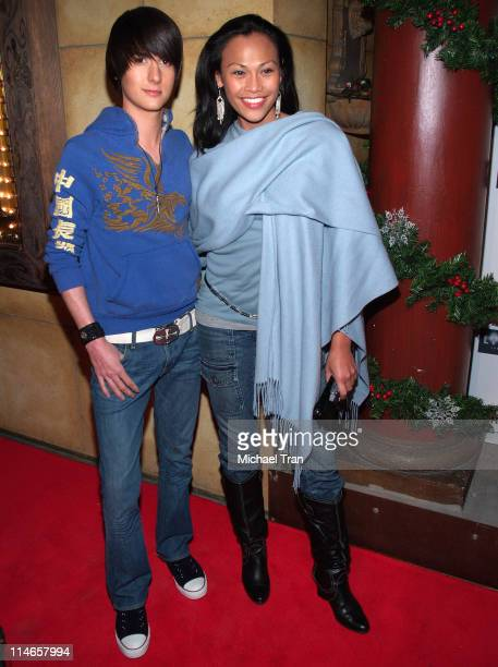 Chad Rogers and Cassandra Hepburn during 'In the Blink of an Eye' Los Angeles Premiere at Highlands in Hollywood California United States