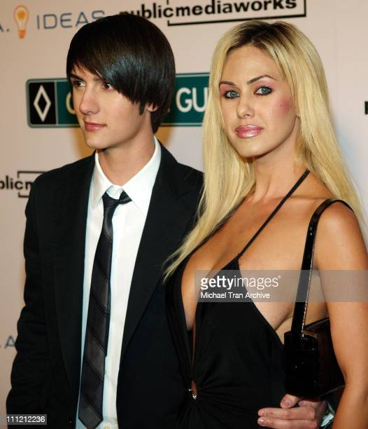 "Chad Rogers and Shauna Sand during World Premiere of The Public Media Works Independent Feature Film ""Carpool Guy"" - Arrivals at Arclight Theaters in..."