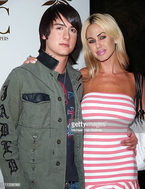 "Chad Rogers and Shauna Sands during ""A Midsummer Night's Dream"" Party - Arrivals at Citrine Restaurant in West Hollywood, California, United States."