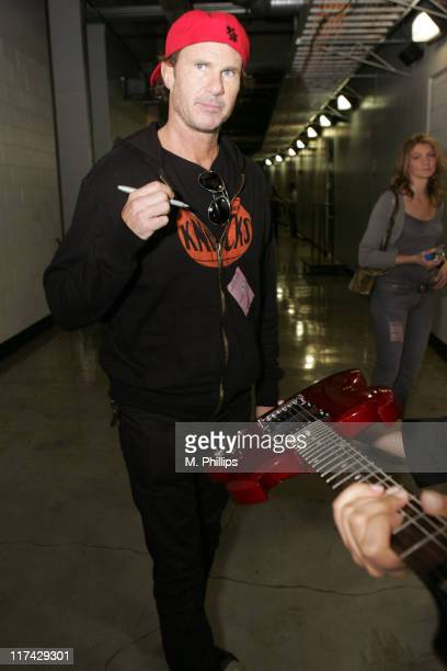 Chad Smith during The 49th Annual GRAMMY Awards MusiCares Signings Day 3 at Staples Center in Los Angeles California United States