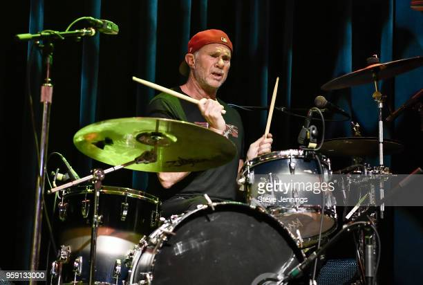 Chad Smith of Red Hot Chili Peppers and Chickenfoot performs at the 5th Annual Acoustic4ACure a concert benefiting the Pediatric Cancer Program at...