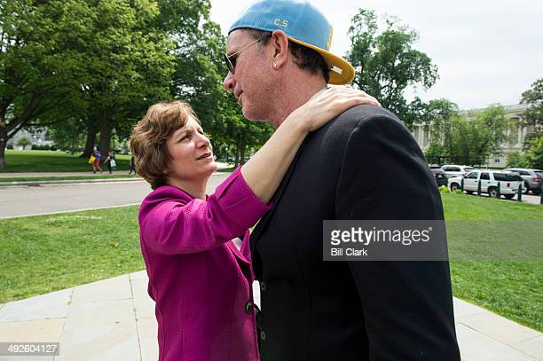 Chad Smith Red Hot Chili Peppers drummer speaks with Rep Suzanne Bonamici DOre about music education in public schools during the National...