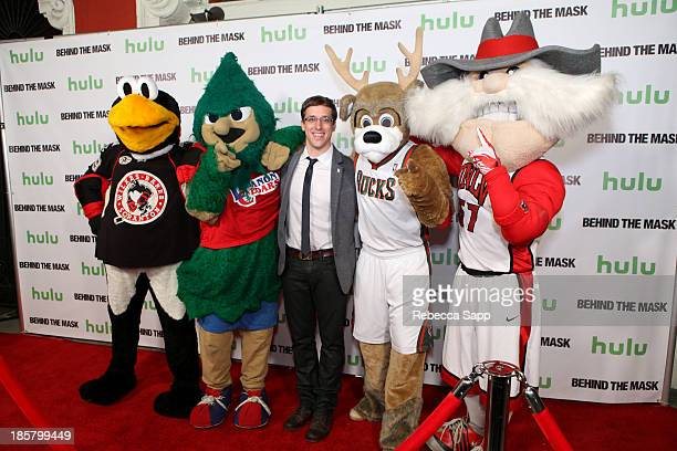 Chad Spencer as AHL hockey's Tux the Penguin Michael Hostetter as Lebanon High School's Rooty the Cedar Tree director Josh Greenbaum Kevin Vanderkolk...