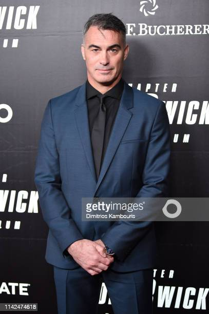 Chad Stahelski attends the John Wick Chapter 3 world premiere at One Hanson Place on May 9 2019 in New York City