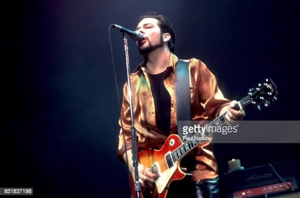 Chad Taylor of American alternative rock band Live performs at the Riviera Theater in Chicago Illinois October 3 1994