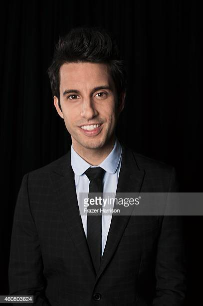 Chad Vaccarino of A Great Big World poses for a portrait at Logo TV's NewNowNext Awards on December 2 2014 at Kimpton Surfcomber Hotel in Miami Beach...