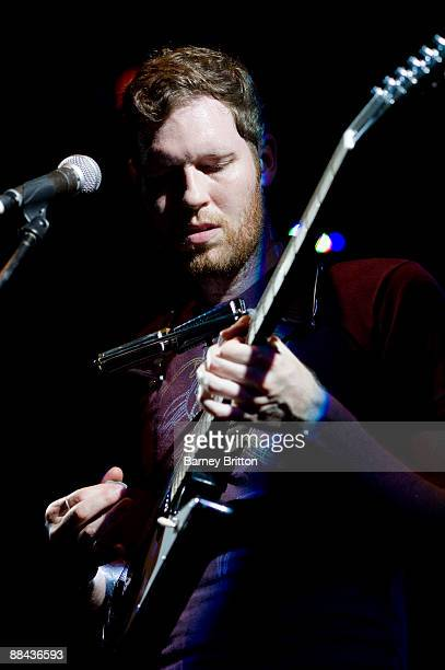 Chad VanGaalen performs on stage at the Institute Of Contemporary Arts on June 11 2009 in London England