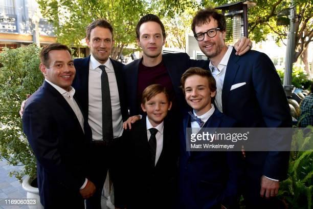 Chad Villella Matt BettinelliOlpin Mark O'Brien Ethan Tavares Liam MacDonald and Tyler Gillett attend the LA Screening Of Fox Searchlight's Ready Or...