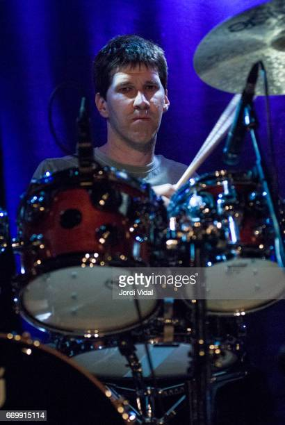 Chad Wackerman of Allan Holdsworth band performs on stage during Festival de Guitarra at Sala Bikini on April 8 2006 in Barcelona Spain