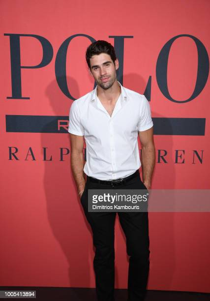 Chad White attends the Polo Red Rush Launch Party with Ansel Elgort at Classic Car Club Manhattan on July 25 2018 in New York City