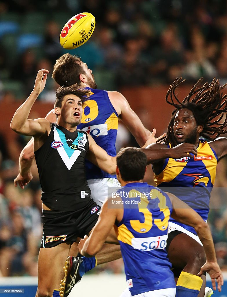 AFL Rd 9 - Port Adelaide v West Coast