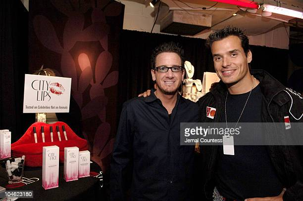 Chad Wright and Anthony Sabato Jr during 32nd Annual Daytime Emmy Awards On 3 Productions Gift Suite Day 2 at Radio City Music Hall in New York New...