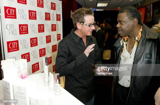 Chad Wright and Billy Preston during City Face, GRAMMY's Official Talent Lounge at City Cosmetics Green Room - Day One at Staples Center in Los...