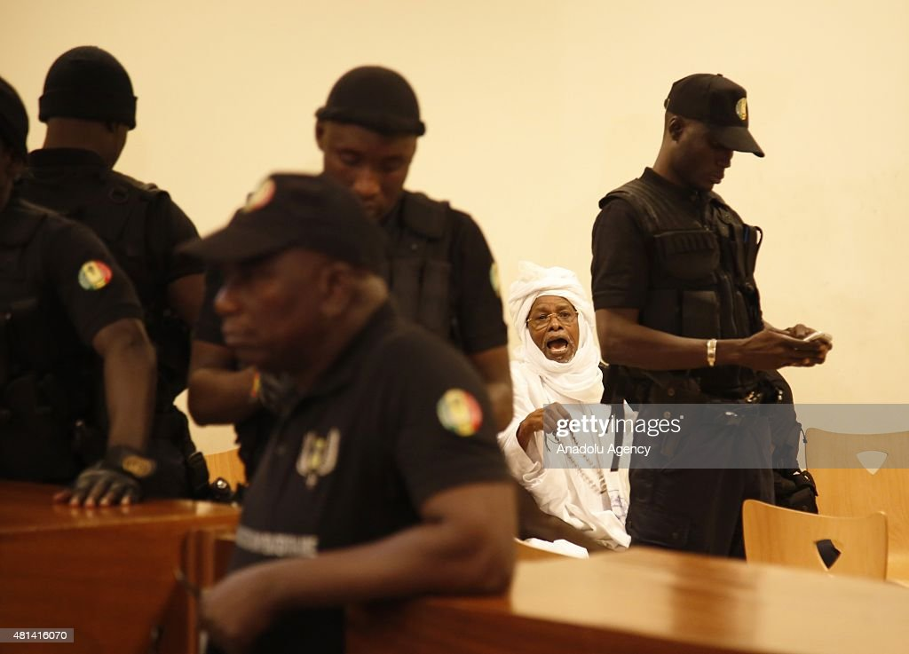Trial of Chad's ousted leader Hissene Habre in Senegal : News Photo