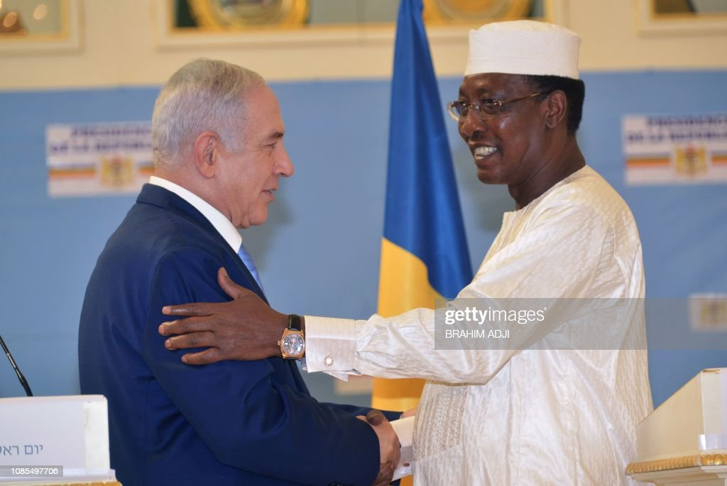 CHAD-ISRAEL-DIPLOMACY : News Photo
