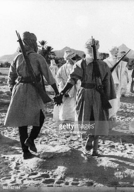 Chadian rebels train in the Tibesti Mountains in northern Africa In 1960 Chad gained its independence from France but the country fell into civil war...